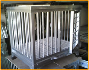 Aluminum Dog Cages Ruigong Manufacture